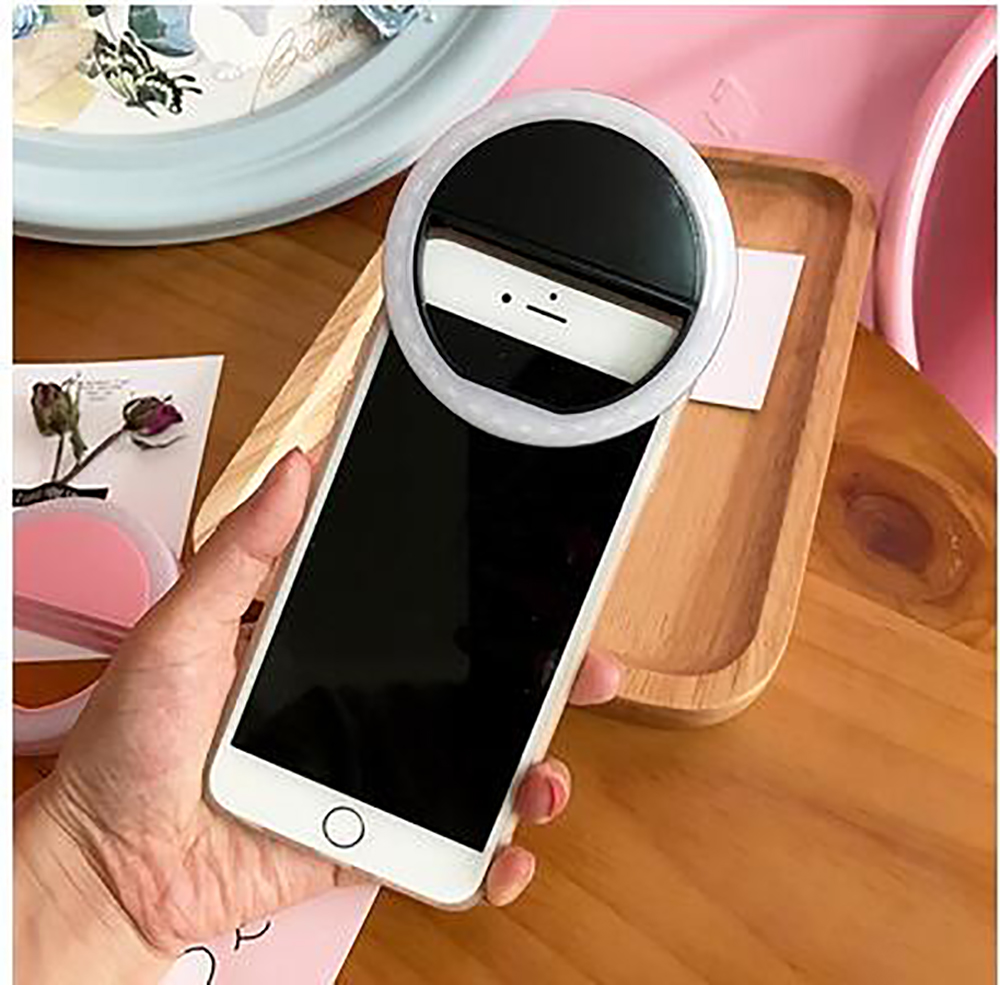 Luxury GIFT Universal LED Flash Light Up Selfie Luminous Phone Ring case For Gionee A1 M6s Plus F106 F5 P8 Max Big Magic F100