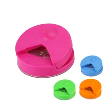 1Pcs New R4 Corner Rounder 4mm Paper Punch Candy Color Card Photo Cutter Craft Scrapbooking DIY Tool