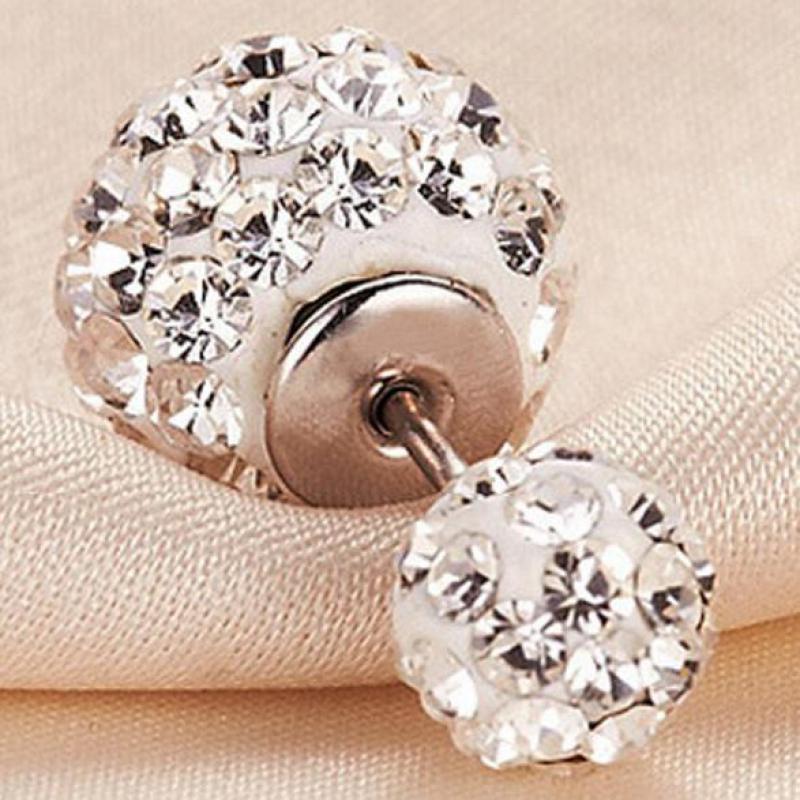 ασημένια κοσμήματα pendientes mujer - Κοσμήματα μόδας - Φωτογραφία 3