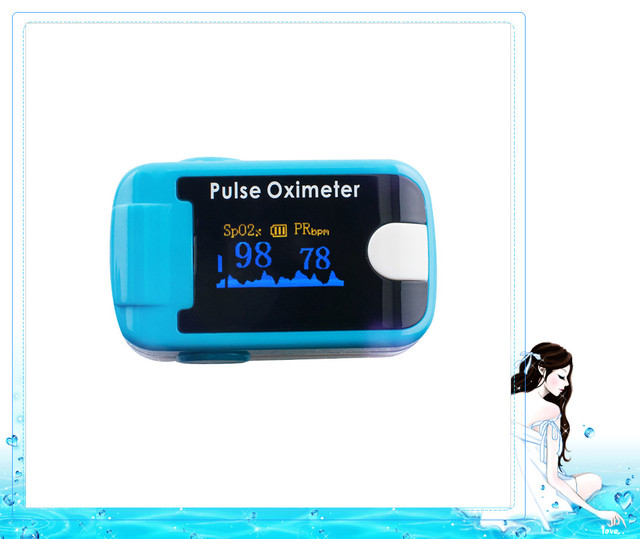 Blood Pulsioximetro Saturation OLED Fingertip Pulse Oximeter With Audio Alarm & Pulse Sound - Spo2 Monitor Finger Puls Oximeter