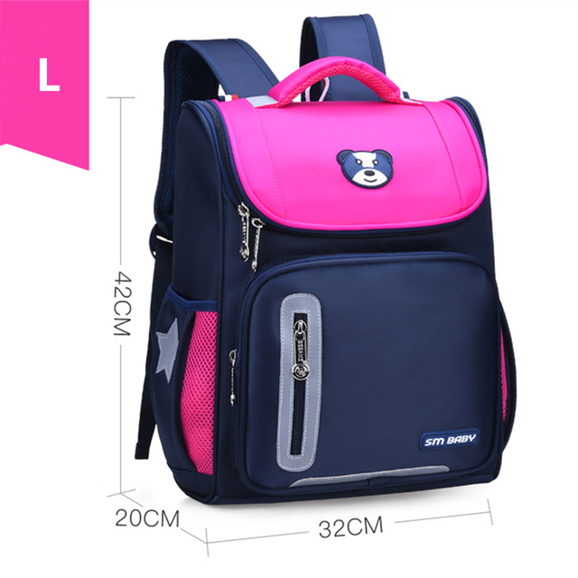 2 Size Girls Orthopaedics School Backpacks Children School Bags Orthopedic Backpack  For Girl Boys Kids Satchel Knapsack Mochila