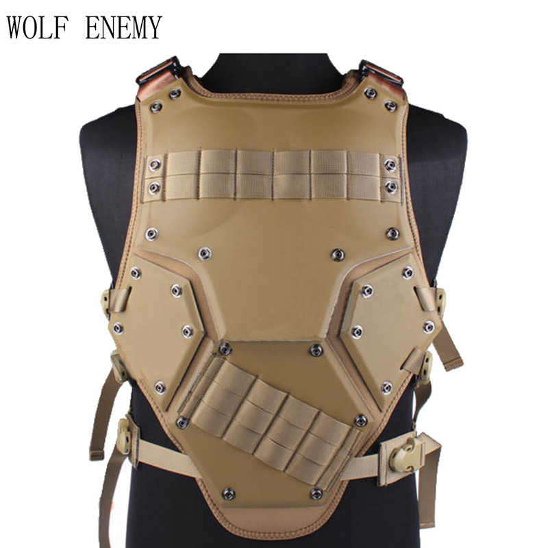 WOLF ENEMY TF3 tactical vest live-action CS field protection wholesale airsoft adults cs field game skeleton warrior skull paintball mask