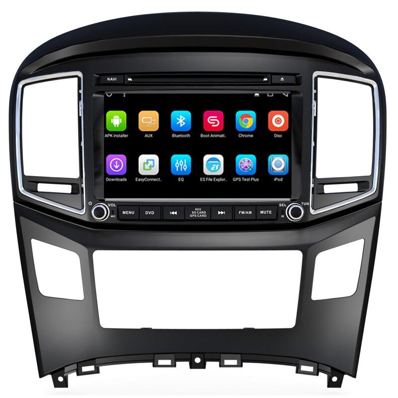 OTOJETA quad core 2 GB ram + 32 GB Android 6.0.1 de voiture lecteur multimédia pour 2016 Hyundai H1 enregistreur de voiture stéréo gps caméra