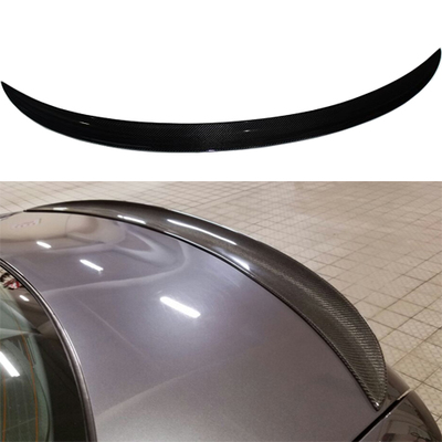 P Style For BMW E92 Spoiler 3 Series 2 Door E92 M3 and E92 Coupe Carbon Spoiler Performance Style 2005 - 2012 for bmw e92 carbon fiber spoiler p style 3 series e92 & e92 m3 carbon fiber rear spoiler rear trunk wing coupe 2 door 2005 2012