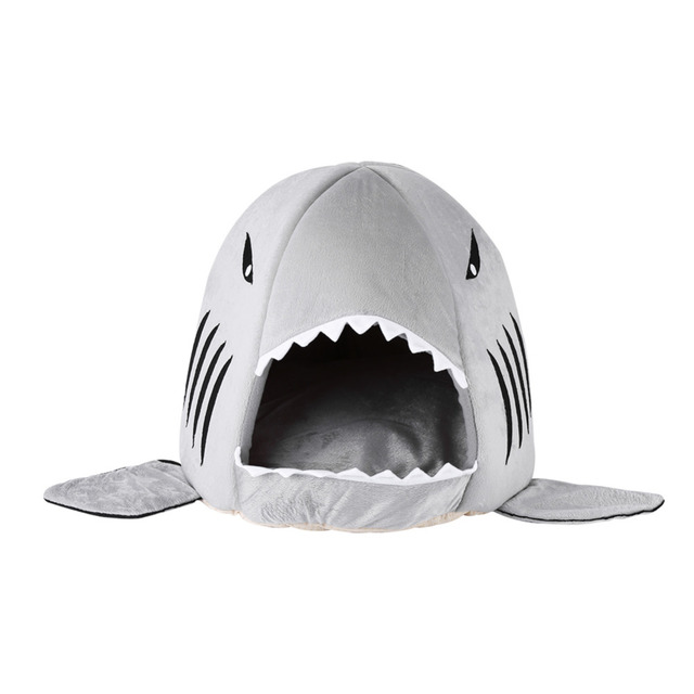 Dog House Winter Fashionable Shark Shape Warm Sleeping Tent Bed For Dog Cat Pet Puppy Pet  sc 1 st  AliExpress.com & Dog House Winter Fashionable Shark Shape Warm Sleeping Tent Bed ...