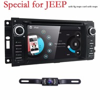 Auto Stereo GPS Navigation DVD Radio For Chrysler 300C Jeep Wrangler Dodge Ram SWC BT 3G