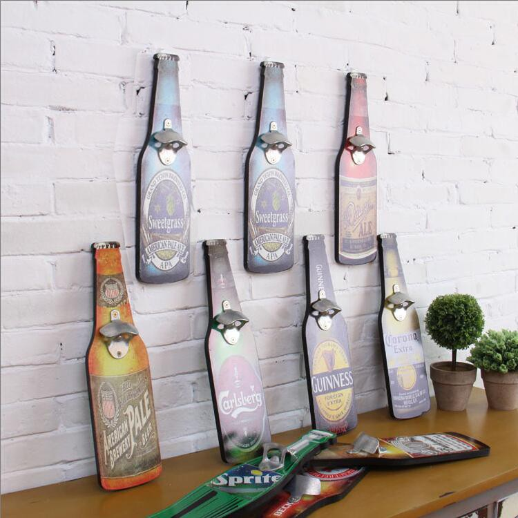 American-Retro-Beer-Bottle-Opener-Cafe-Bar-Restaurant-wall-Pendant-Home-Furnishing-wall-mural-wall