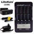 Liitokala Lii-500 LCD 3.7 V 18650 18350 18500 16340 17500 25500 10440 14500 26650 1.2 V AA AAA NiMH batería de litio Cargador de batería