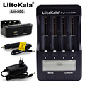 Liitokala Lii-500 LCD 3.7 v 18650 18350 18500 16340 17500 25500 10440 14500 26650 1.2 v AA AAA NiMH litio caricabatteria