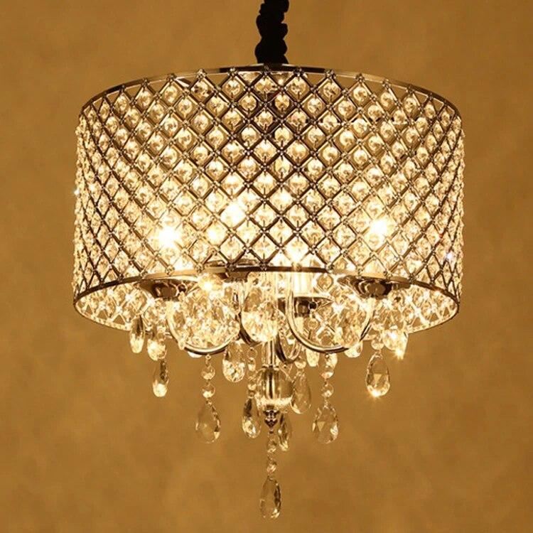 antique crystal chandelier semi flush mount pendant light chrome finish lighting fixture black sliver round lighting fixture