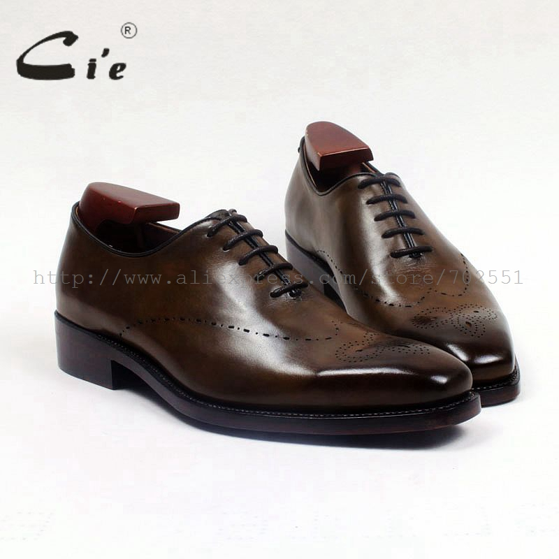 cie  whole cut medallion wingtips oxford 100%genuine calf leather men shoe handmade leather man shoe goodyear welted flat ox513 cie round wingtips medallion patina brown 100%genuine calf leather men shoe goodyear welted bespoke leather handmade shoe ox573