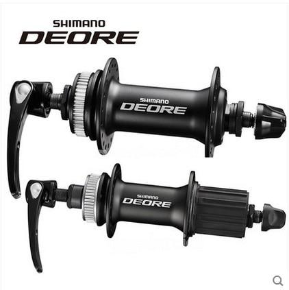 Shimano Deore M615 32 отверстия диск концентратор Комплект спереди и сзади QR Centerlock роторы 10 s