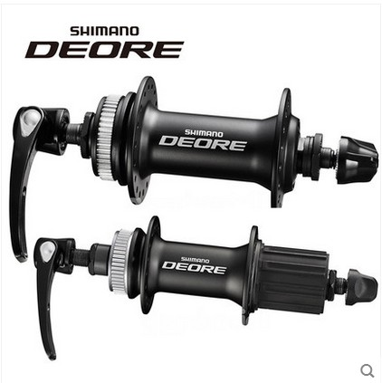 Shimano Deore M615 32 holes Disc Hub set Front and Rear QR Centerlock Rotors 10sShimano Deore M615 32 holes Disc Hub set Front and Rear QR Centerlock Rotors 10s