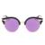 Laura hadas Vintage polarizadas gafas de sol redondas mujeres diseñador Revo lentes Sunglases ojo de gato gafas de sol en forma 2016