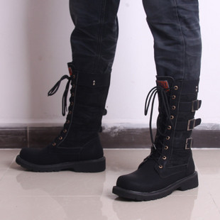 Aliexpress.com : Buy New design Men high side boots high leg ...