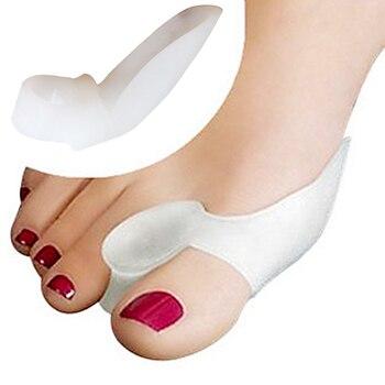 2e37db9ed5 4 pcs   2 par de Silicone Protetor de Joanete Corrector Osso Dedão do pé  Ferramenta de Cuidados Com Os Pés Gel Toe Hálux Valgo Ortopédicos  espalhador ...