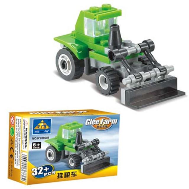 32pcs/set Small Size Garden Cart Truck DIY Building Blocks Toys