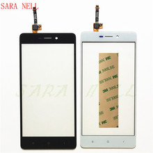 SARA NELL Phone Touch Screen Sensor Panel For Xiaomi Redmi 3 3s Touchscreen Digitizer Front Glass Lens Replacement+tape все цены
