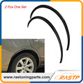 RASTP - 72cm 2 Pcs/Set  Carbon Fiber Car Fender Flares  Wheel Eyebrow  Protector Sticker Black Universal LS-LKT008