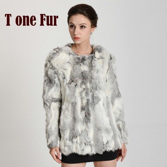 Aliexpress.com : Buy Hot Selling Top Rated Real Rabbit Fur Coat ...