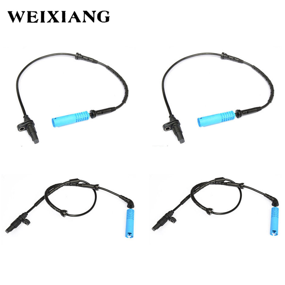 4PCS Front Rear Left Right ABS Wheel Speed Sensor for BMW