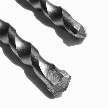 цена на 6PCS/pack 6/8/10/12/14/16mm Solid alloy Tip SDS Plus Round Shank 4 hollow Hammer Drill Bit for concrete/brick/wall/tile/granite