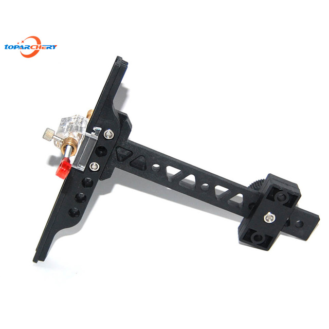 Recurve Bow Sight with PVC Material Height 16cm Length 15cm Hunting Target Shooting Archery Chasse Bow Sight Accessories