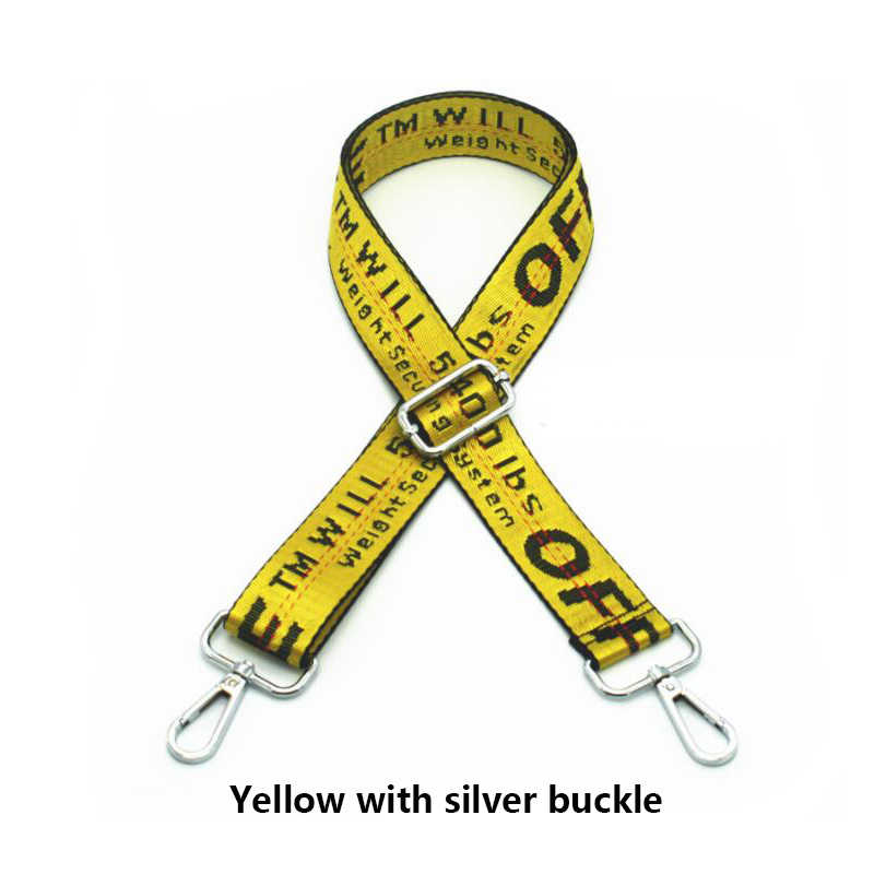 Сумка на ремне сумка-мессенджер на ремне сумка на ремне аксессуары ручка часть сумки через плечо желтый ремешок Замена багажника украшения