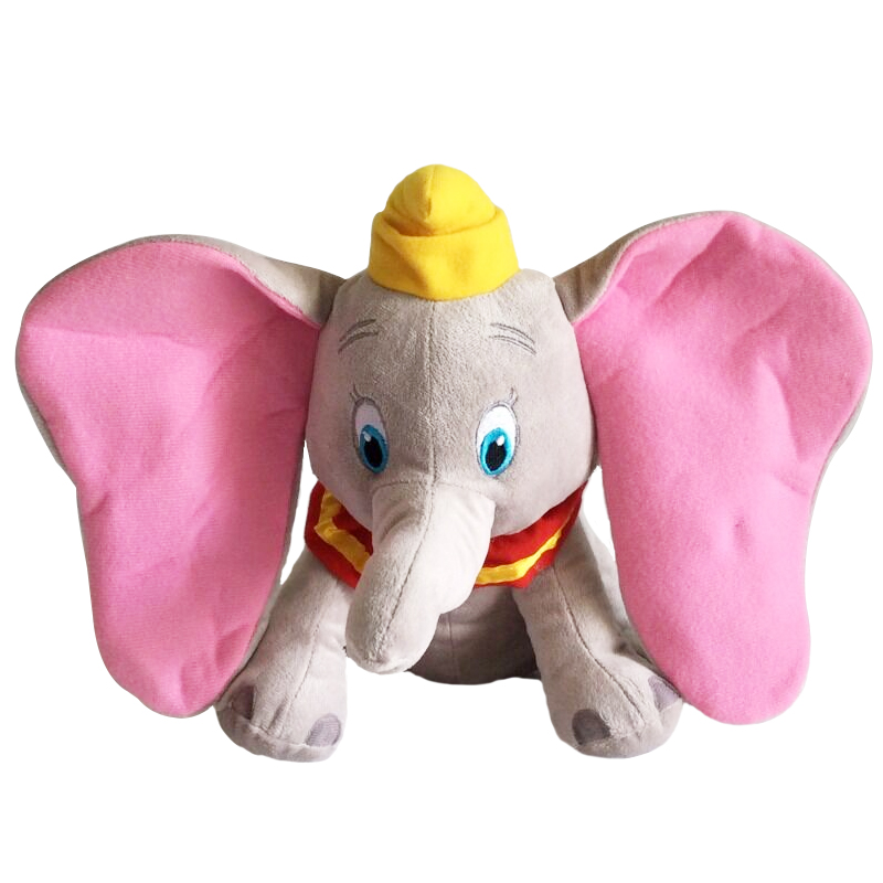 цена на 1pcs 30cm Dumbo Elephant Plush Toys Stuffed Animals Soft Toys for baby Gift stuffed doll for collection