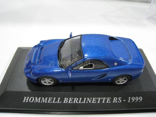 CLC263 Hommel RS Berlinette 1999  1:43 IXO