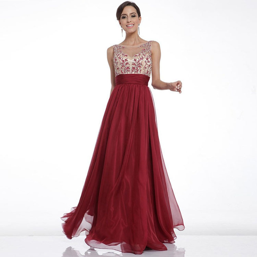 Fashion Beautiful Lady Women Wedding Evening Party Dresses Floral ...