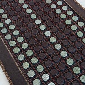 Image 2 - Gesundheit pflege heizung jade kissen Natürliche turmalin matte physikalische therapie mat beheizten jade matratze 4 Größe verfügbar