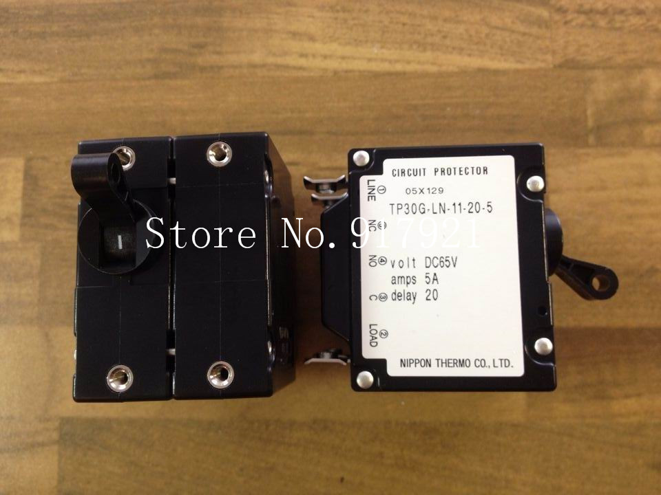 [ZOB] Japan and the TP30G-LN-11-205 device circuit breaker DC65V 5A 2P5A genuine original --5pcs/lot [zob] muller moeller eaton l7 16 2 d breaker 2p16a d16a genuine original 5pcs lot