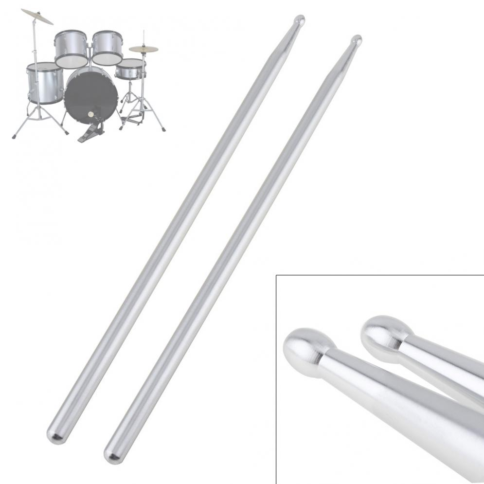 5A Aluminium Alloy Drum Sticks For Dumb Drum Pad And Jazz Drum Practicing Strength Endurance Exercises