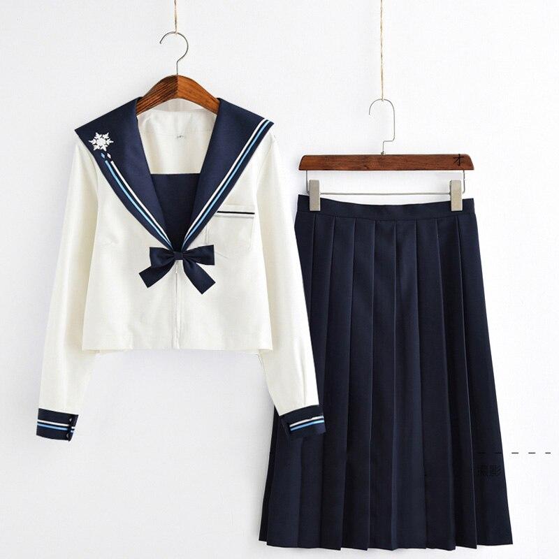 Giapponese Classico A Maniche Lunghe Navy Marinaio Uniformi Vestito