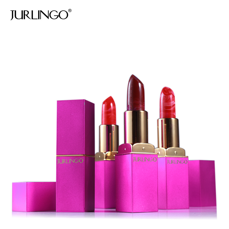 JURLINGO Brand Makeup Ice Cream Matte Lipstick Long Lasting Lip Gloss Set Shimmer Baby Lip Stick Lip Balm Charming Waterproof image