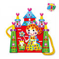5 PCs Children 3D puzzle for Eva backpack toys/ Kids DIY handmade sewing the shoulder bag educational toys, free shipping