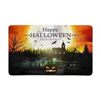 Halloween Indoor Entrance Doormat Backing Non Slip Door Mat Entrance Rugs Home Decor