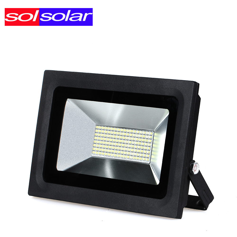 SOLSOLAR LED Flood Light 60W AC85-265V Waterproof IP65 Floodlight Spotlight Garden Lamp Outdoor Lighting Freeshipping Halloween led flood light street tunel lighting floodlight ip65 waterproof ac85 265v led spotlight outdoor lighting lamp