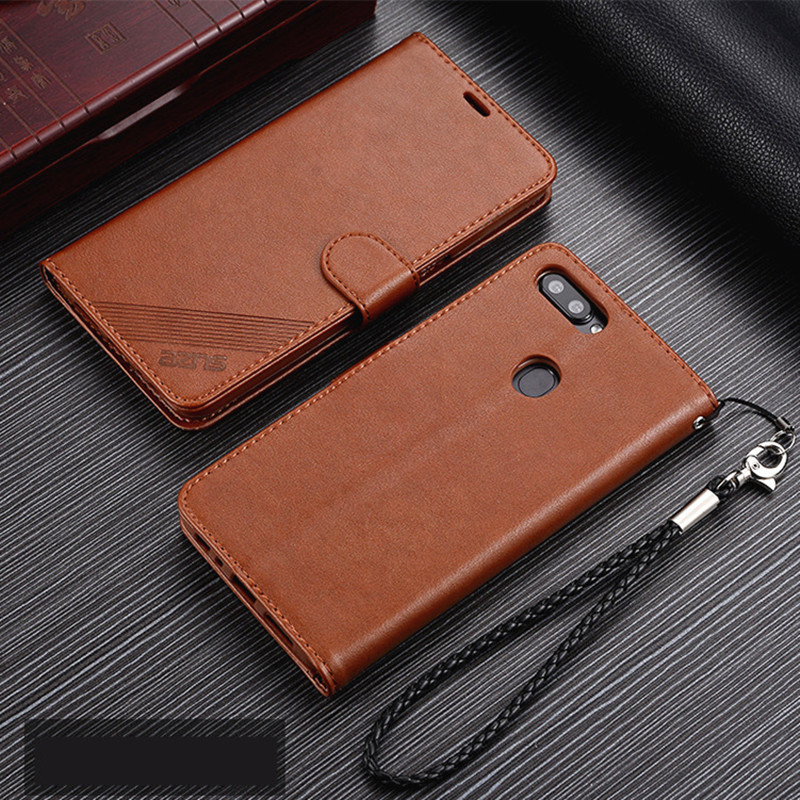 AZNS Honor 7X Case High Quality Flip Cover Leather Case For Huawei Honor 7X Pu Leather Phone Bags protective Holster