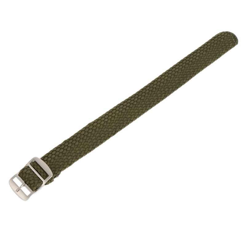 16 18 20 22 мм Мужские и женские повседневные часы ремешок нейлон перлоновые ремни Плетеные ремешки часы ремешок часы унисекс часы аксессуары