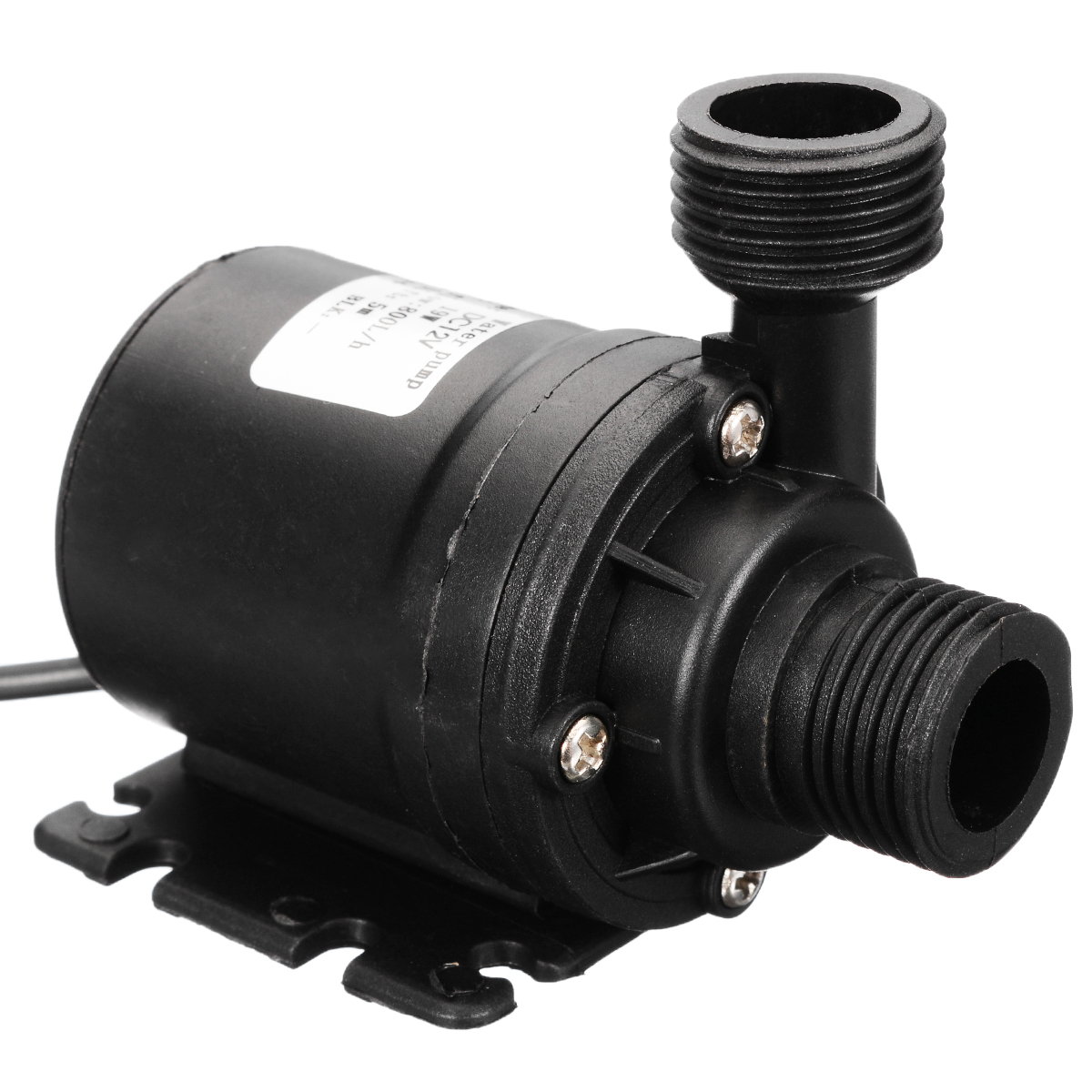 DC 12V 19W Ultra Quiet Pump Mini IP68 800L/H Brushless Motor Submersible Water Pump For Water Circulation System Cooling