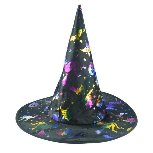 Color sombrero de bruja de Halloween rendimiento etapa productos ...