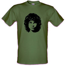 JIM MORRISON THE DOORS Che Guevara style Heavy Cotton t-shirt SIZES SMALL- XXL Harajuku Tops Fashion Classic Unique