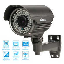 KKmoon 1080P AHD CCTV Camera Outdoor Analog Video Surveillance Camera for Sony CMOS Weatherproof PAL CCTV Outdoor Camera