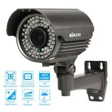 KKmoon 1080P AHD kamera CCTV zewnętrzna analogowa kamera monitorująca wideo dla Sony CMOS odporna na warunki atmosferyczne kamera zewnętrzna PAL CCTV