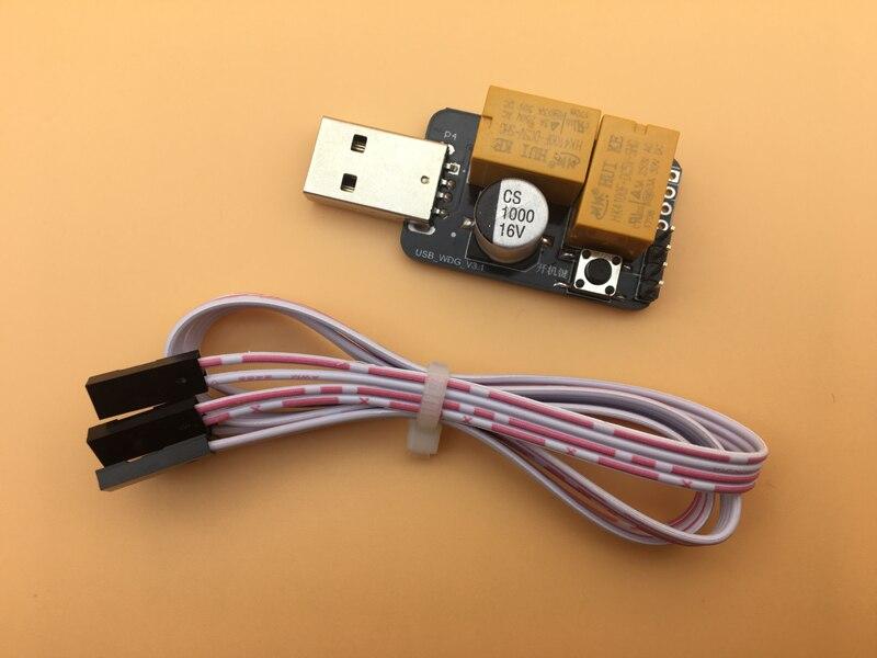 USB Watchdog Card Computer Unattended Automatic Restart Blue Screen Computer Game Server 24 Hours BTC Miner
