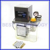 2L 220V AC Electric Auto Lubrication Pump CNC Engraving Router machine Automatic Oil Pump Single digital
