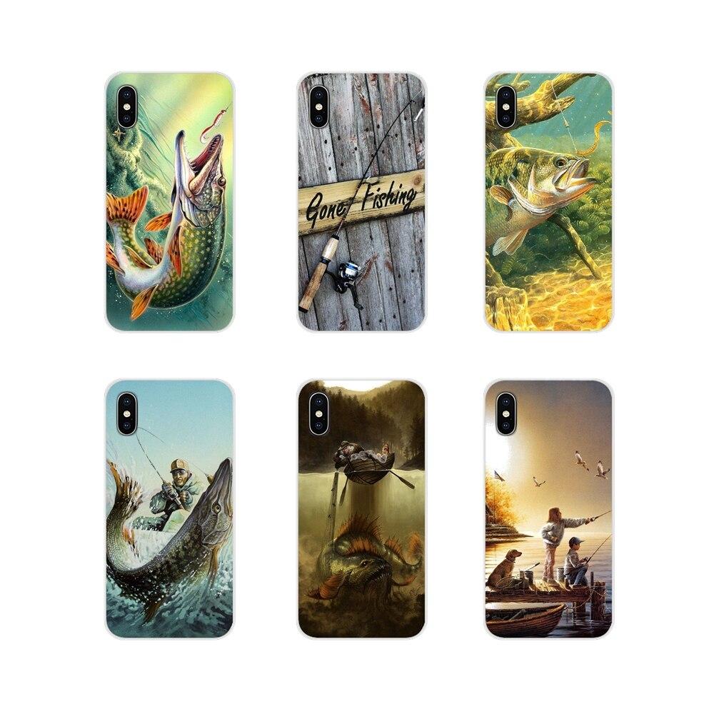 Hunting Fishing art fish For Samsung Galaxy A3 A5 A7 J1 J2 J3 J5 J7 2015 2016 2017 Accessories Phone Shell Covers