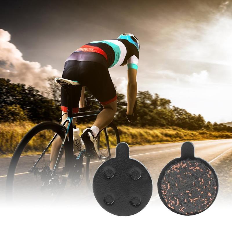 2 Pairs Resin//Metal Universal Mountain Road Bicycle Cycling Bike Disc Brake Pads